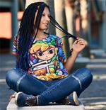 The Legend of Zelda Ladies T-Shirt Zelda Sumblimation