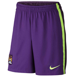 2014-2015 Man City Third Nike Football Shorts (Kids)