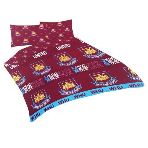 West Ham United F.C. Double Duvet Set