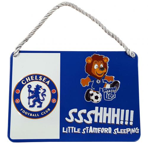 Chelsea F.C. Bedroom Sign Mascot