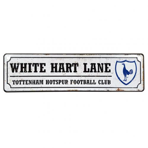 Tottenham Hotspur F.C. Retro Window Sign