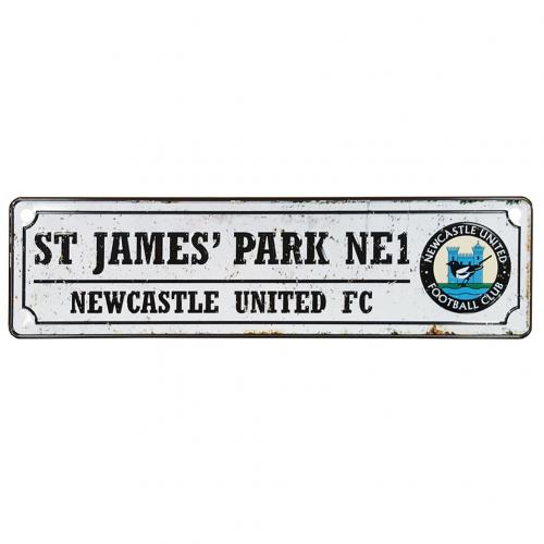 Newcastle United F.C. Retro Window Sign