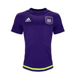 2015-2016 Anderlecht Adidas Training Shirt (Purple)