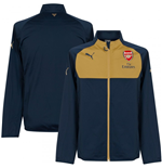 2015-2016 Arsenal Puma Poly Track Jacket (Navy)