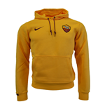 2015-2016 AS Roma Nike Core Hooded Top (Orange) - Kids