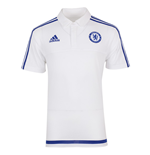2015-2016 Chelsea Adidas Polo Shirt (White)