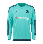 2015-2016 Chelsea Adidas Home Goalkeeper Shirt (Kids)