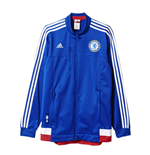 2015-2016 Chelsea Adidas Anthem Jacket (Blue)