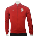 2015-2016 Lille Nike Authentic N98 Jacket (Red)