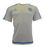 2015-2016 Marseille Adidas Training Tee (White)