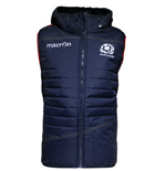 2015-2016 Scotland Macron Rugby Padded Gilet (Navy) - Kids
