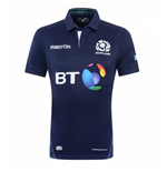 2015-2016 Scotland Home Pro Body Fit Rugby Shirt