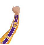 Los Angeles Lakers Tattoo Arm Sleeve