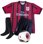 AC Milan Home 2015/16 Kit L Adriano e Bacca