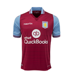 2015-2016 Aston Villa Home Football Shirt