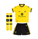 2015-2016 Aston Villa Away Little Boys Mini Kit