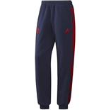2015-2016 Man Utd Adidas Sweat Pants (Dark Blue)