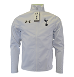 2015-2016 Tottenham Adult Waterproof Shell Jacket (White)