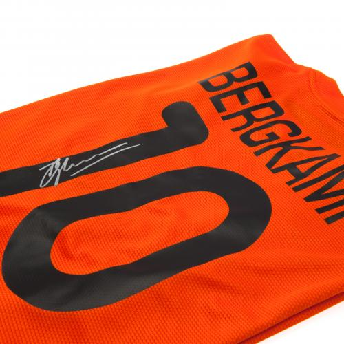 Holland Bergkamp Signed Shirt