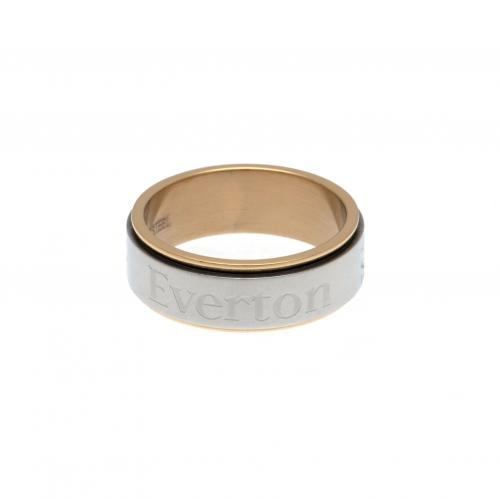 Everton F.C. Bi Colour Spinner Ring Small