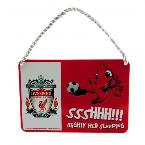 Liverpool F.C. Bedroom Sign Mascot