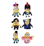 Minions Plush Figures Movie 12 cm Assortment (6)