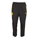 2015-2016 Borussia Dortmund Puma Leisure Pants (Black) - Kids