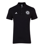2015-2016 Chelsea Adidas BST Polo Shirt (Black)