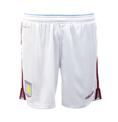 2015-2016 Aston Villa Home Football Shorts (Kids)