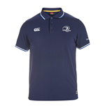 2015-2016 Leinster Rugby Tipped Polo Shirt (Navy)