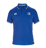 2015-2016 Leinster Rugby Tipped Polo Shirt (Blue)