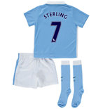 2015-2016 Man City Home Little Boys Mini Kit (Sterling 7)
