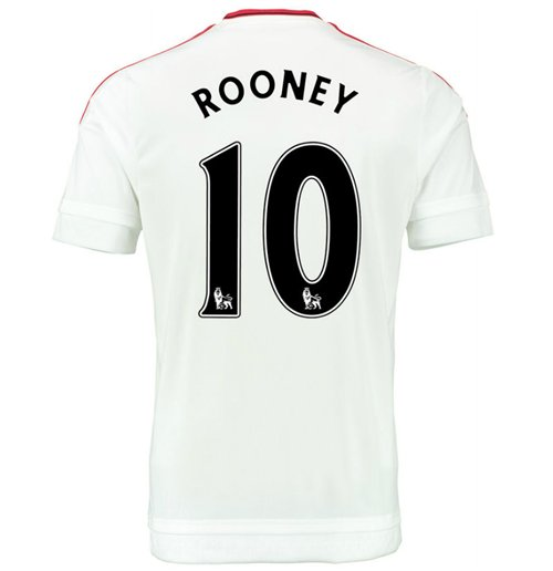 2015-2016 Man Utd Away Shirt (Rooney 10) - Kids