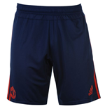 2015-2016 Man Utd Adidas Training Shorts (Dark Blue) - Kids
