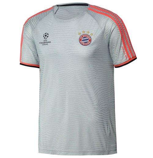 size 40 360f2 10c84 2015-2016 Bayern Munich Adidas UCL Training Shirt (White)