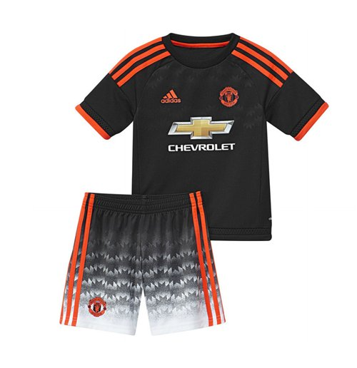 competitive price 80910 6b12f 2015-2016 Man Utd Adidas Third Baby Kit