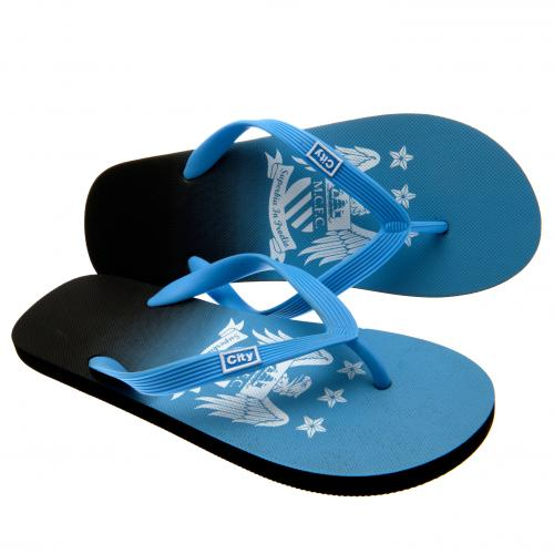Manchester City F.C. Flip Flops Junior size 6
