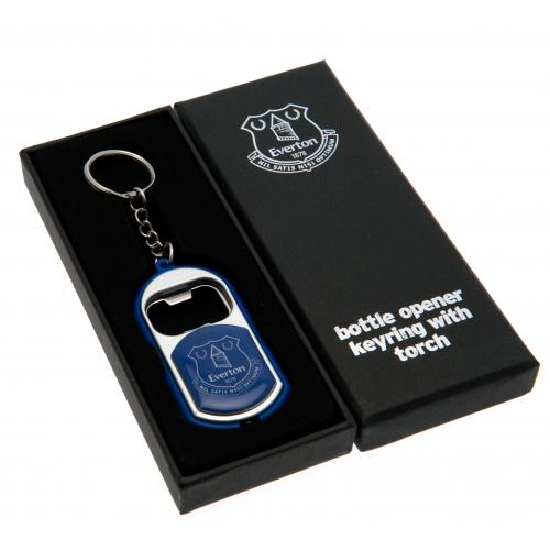 Everton F.C. Key Ring Torch Bottle Opener