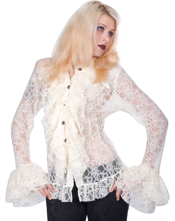 Aderlass Riffle Blouse Steam Punk