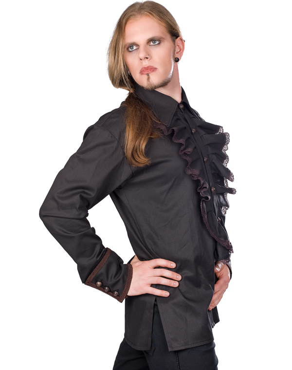 Aderlass Riffle Victorian Steam Punk Shirt