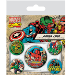 Marvel Comics Pin Badges 5-Pack Spider-Man