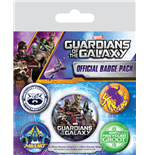 Guardians of the Galaxy Pin Badges 5-Pack