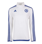 2015-2016 Chelsea Adidas Training Top (White) - Kids