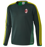 2015-2016 AC Milan Adidas EU Training Top (Green)