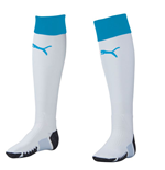 2015-2016 Newcastle Away Football Socks (White) - Kids