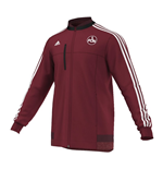 2015-2016 Nurnberg Adidas Anthem Jacket (Burgundy)