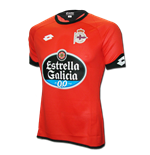 2015-2016 Deportivo La Coruna Lotto Third Football Shirt