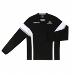 2015-2016 Glasgow Warriors Rugby Training Poly Sweatshirt (Black)