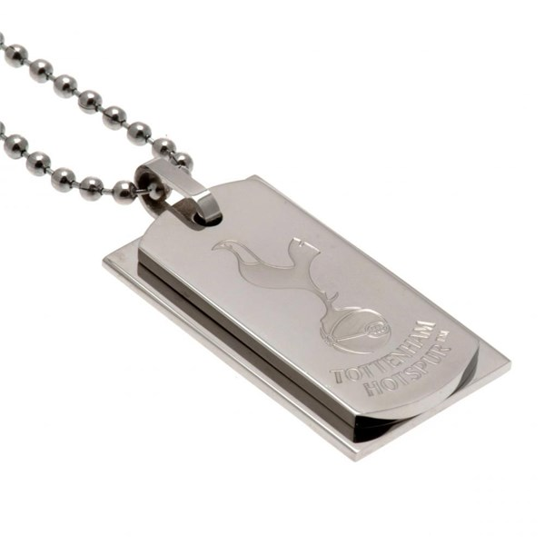 Tottenham Hotspur F.C. Double Dog Tag & Chain