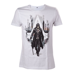 ASSASSIN'S CREED Syndicate Jacob Frye T-Shirt, Medium, White